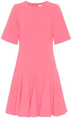 Oscar de la Renta Stretch wool-crepe dress