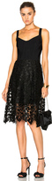 Oscar de la Renta Day Dress in Black.