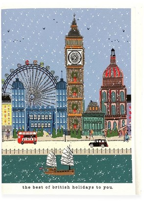 Verrier British Holidays Christmas Card