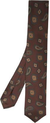 Barba Paisley Pattern Tie