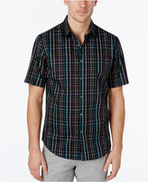 Alfani Men's Slim Fit Plaid Shirt, Only at Macy's