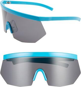 Rad + Refined Retro Shield Sunglasses