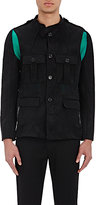 Ann Demeulemeester MEN'S LAYERED SAFARI JACKET