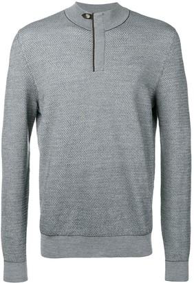 Ermenegildo Zegna High Neck Sweater