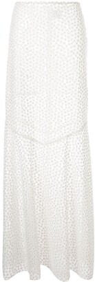 macgraw embroidered Majestic skirt