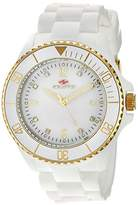 Seapro Women's SP7411 Bubble Analog Display Swiss Quartz White Watch