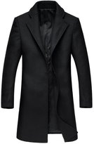 Oncefirst Mens Wool Classic Pea Coat Winter Coat 35