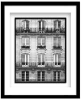 Across the Street II by Laura Marshall (Framed)