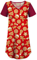 Red Holiday Cookie Nightgown - Women & Plus