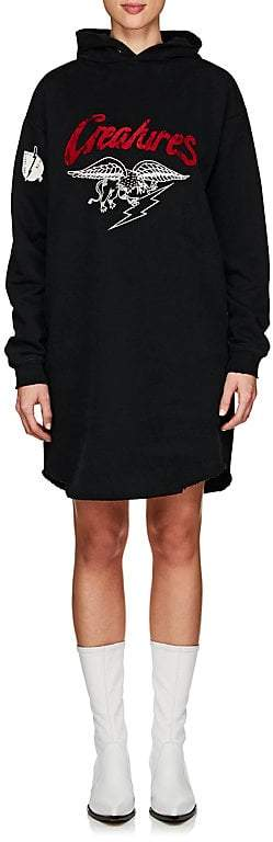 Givenchy Women's Cotton French Terry Hoodie Dress
