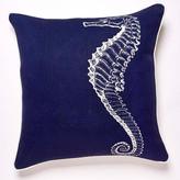 Thomas Paul Seahorse Linen Pillow