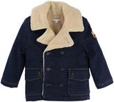 Little Marc Jacobs Faux Fur Reefer Jacket