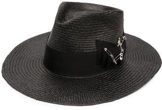 Nick Fouquet Midnight bow fedora hat
