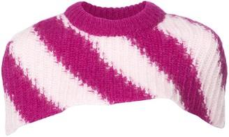 Calvin Klein Knitted Collar