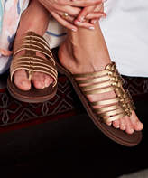 Roxy Women's Sandals BRONZE - Bronze Strappy Tia Sandal - Women
