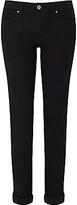 HUGO BOSS BOSS Orange J20 Regular Rise Slim Leg Jeans, Black
