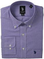 U.S. Polo Assn. Men's Purple Gingham