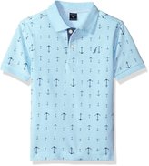 Nautica Little Boys' Printed Polo