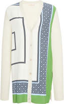Tory Burch Greer Silk Cardigan