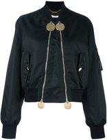Givenchy double zip bomber jacket