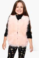 Boohoo Girls Faux Fur Gilet