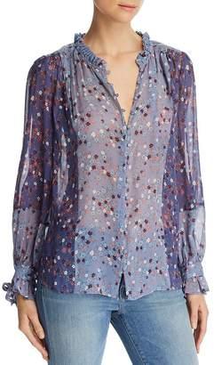 Paige Dorothy Floral Silk Blouse