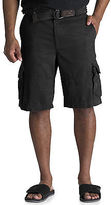 Society of One Rumpled Cargo Shorts Casual Male XL Big & Tall