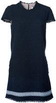 Thom Browne T-shirt dress - women - Silk/Cotton - 40