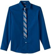 Chaps Boys 8-18 Dress Shirt & Tie Set