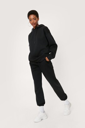 Nasty Gal Womens Oversized Hoodie and Joggers Set