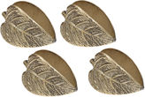 DESIGN IMPORTS Design Imports Set of 4 Leaf Napkin Rings