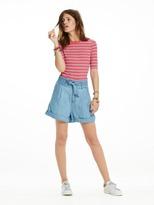 Scotch & Soda Paperbag Waist Shorts