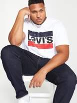 Levi's Big & Tall Big Graphic T-Shirt - White