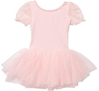 Bloch Frill Sleeve Tutu Leotard (Toddler/Little Kids/Big Kids) (Candy Pink) Girl's Jumpsuit & Rompers One Piece