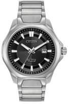 Citizen Ti+IP Eco-Drive Titanium Analog Bracelet Watch