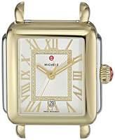 Michele Women's 'Deco Madison Head' Swiss Quartz Stainless Steel Casual Watch(Model: MW06T00C9018)