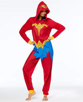 Briefly Stated Wonder Woman Hooded Union Suit Jumpsuit