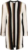 Lanvin metallic striped cardigan