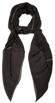 Givenchy Monkey Brothers-print Cashmere-blend Scarf