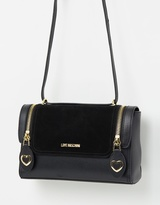 Love Moschino Zip Detail Crossbody Bag