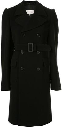 Maison Margiela Double Breasted Belted Coat
