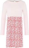 Joules Girls Stripe Top Heart Print Skirt Dress