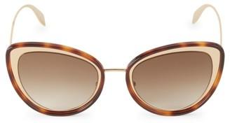 Alexander McQueen 54MM Mod Cat Eye Sunglasses