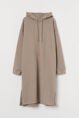 H&M Hooded Dress - Brown