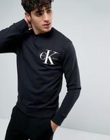 Calvin Klein Jeans Re-Issue Black Logo Sweatshirt