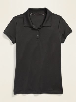 Old Navy Uniform Moisture-Wicking Polo for Girls