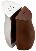 Nambe Cradle Salt and Pepper Shaker Set