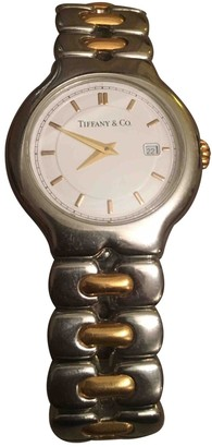 Tiffany & Co. Metallic gold and steel Watches