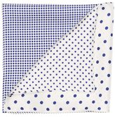Perry Ellis Four-Sided Dot Pocket Square