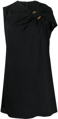 Versace Draped Detail Short Dress